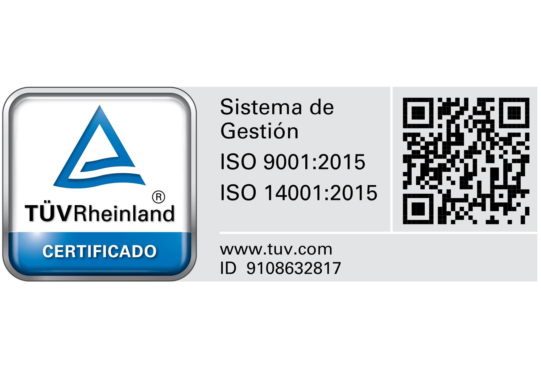 ISO 9001:2015 e ISO 14001:2015